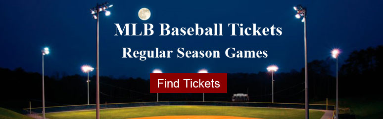 MLB Spring Training and Regular Season Tickets